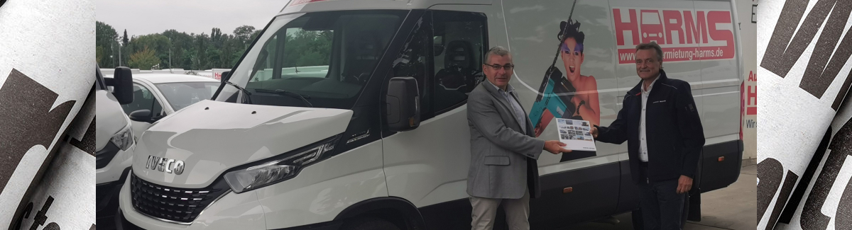 IVECO Daily Blog Autovermietung Harms